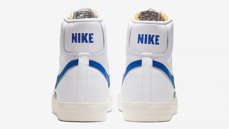 Nike Blazer Mid 77 Vintage White Royal Blue BQ6806-103 back thumbnail image