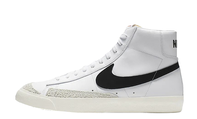 Nike Blazer Mid 77 White Black CZ1055-100