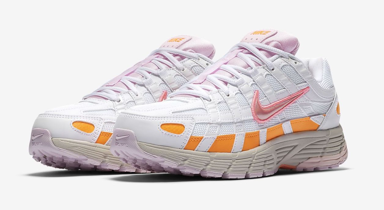 Nike P-6000 White Pink front