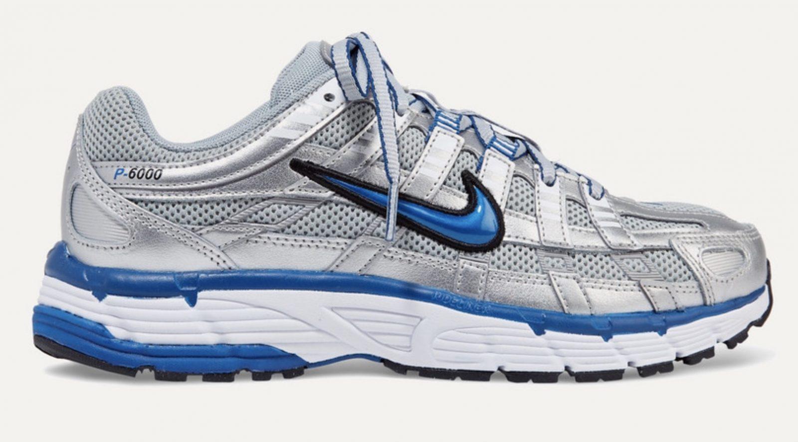 Nike P6000 Metallic Grey