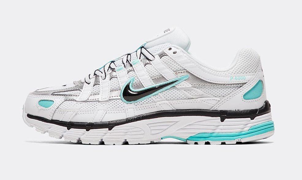 Nike P6000 metallic silver