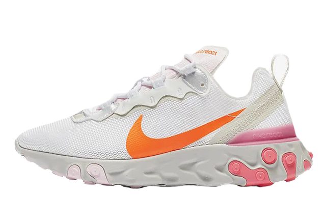 Nike React Element 55 White Digital Pink CV3035-100