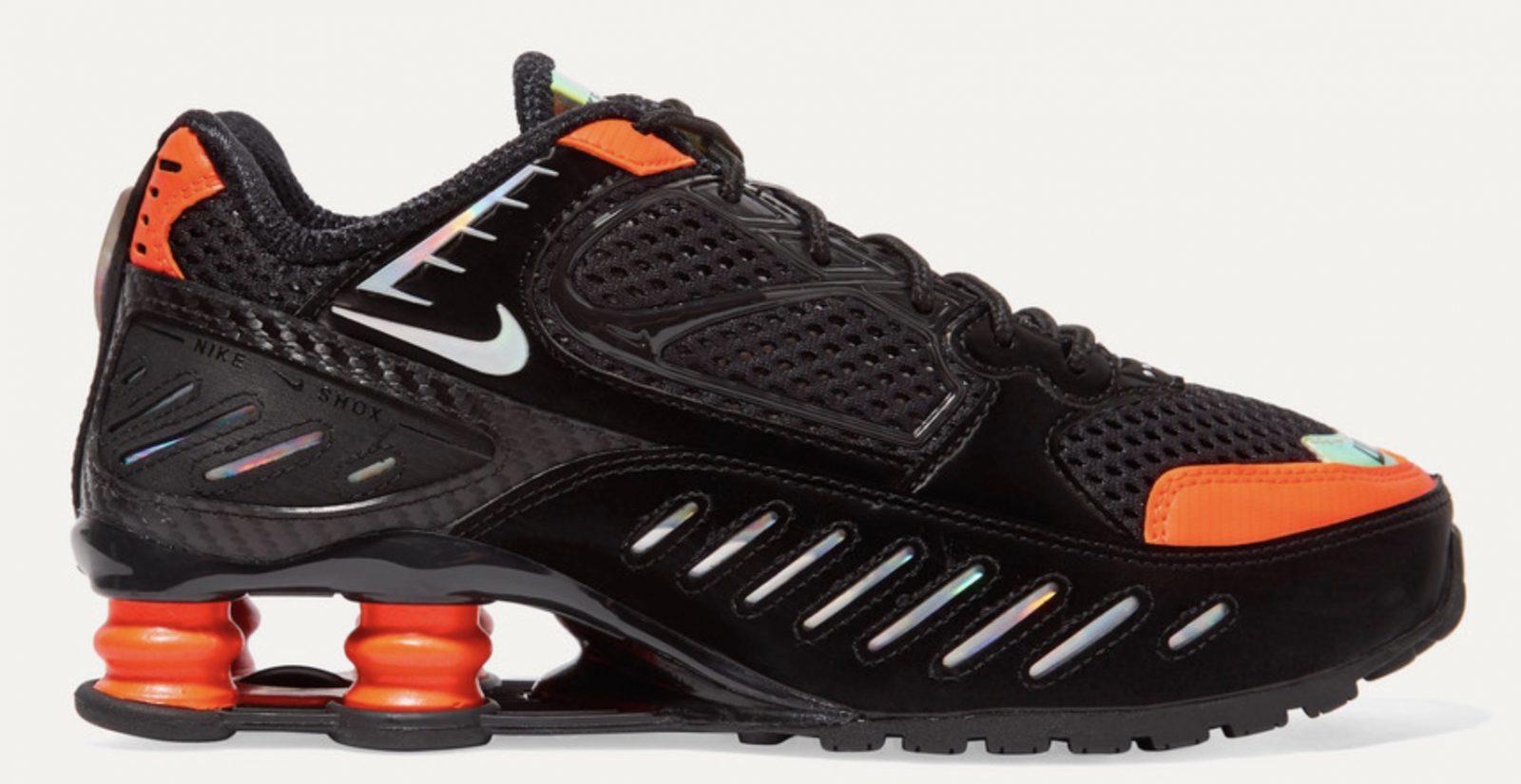 Nike Shox Black Orange