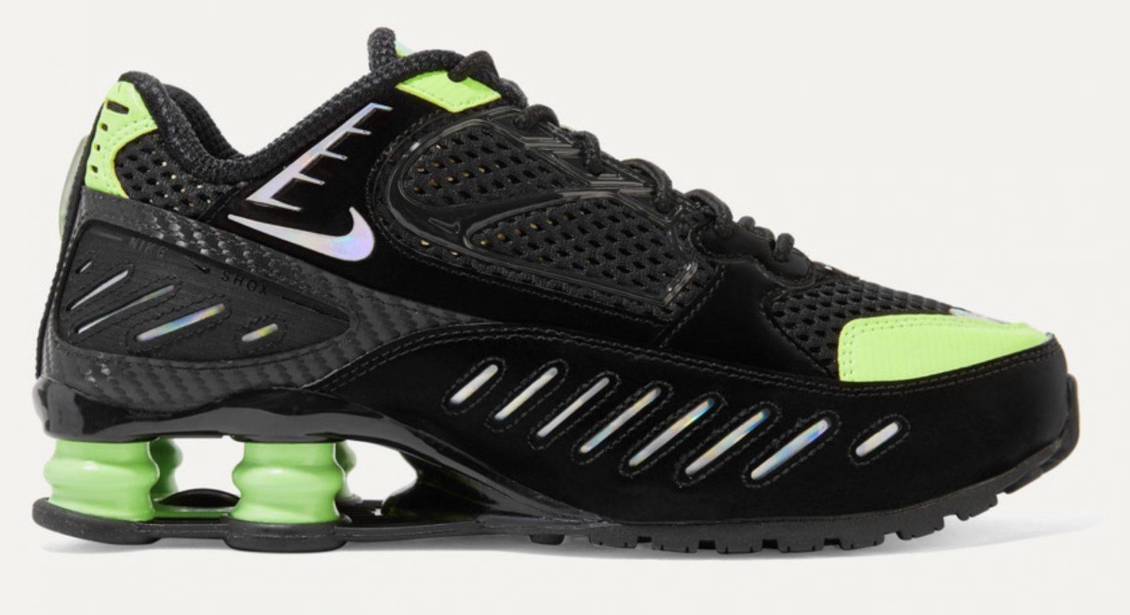 Nike Shox Engima Black Grey