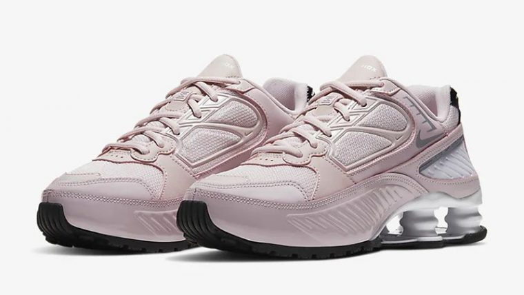 Nike Shox Enigma 9000 Barely Rose BQ9001-600 front thumbnail image