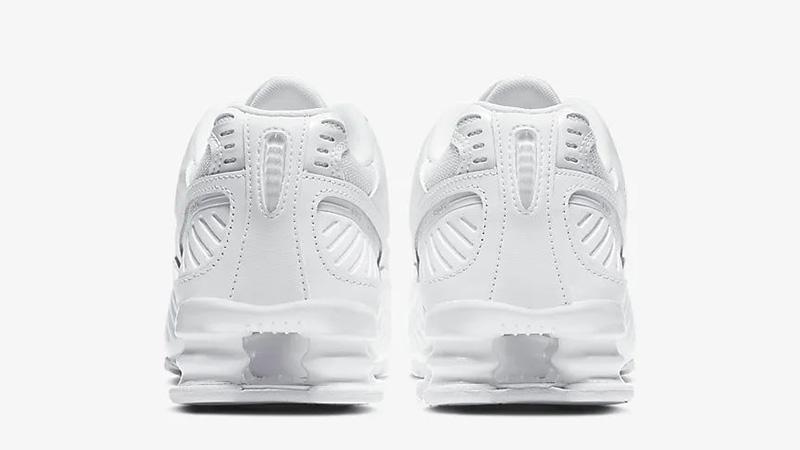 Nike Shox Enigma 9000 White BQ9001-101 back