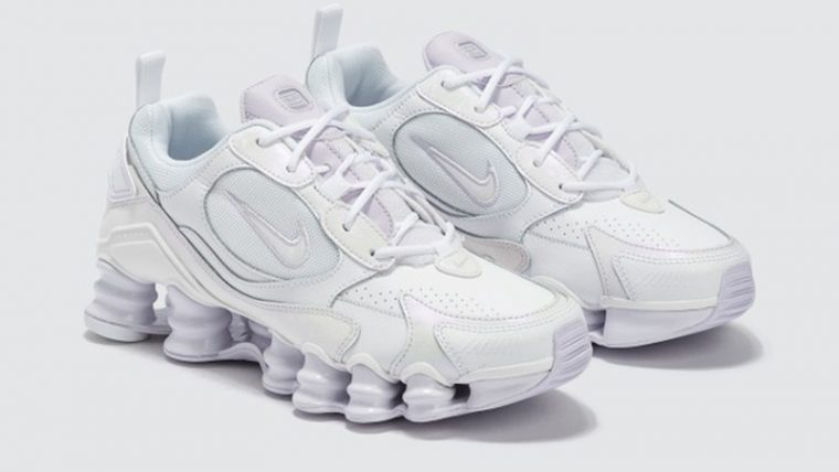 Nike Shox TL Nova White Barely Grape front thumbnail image