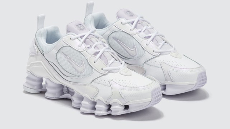 Nike Shox TL Nova White Barely Grape front
