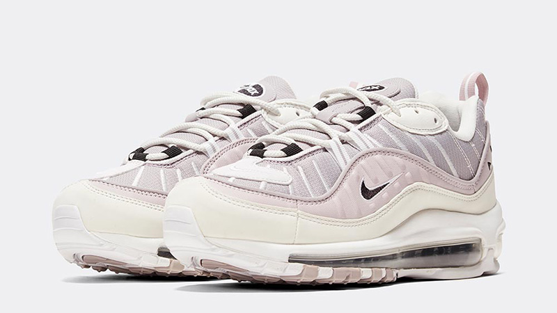 Nike Womens Air Max 98 Silver Lilac front