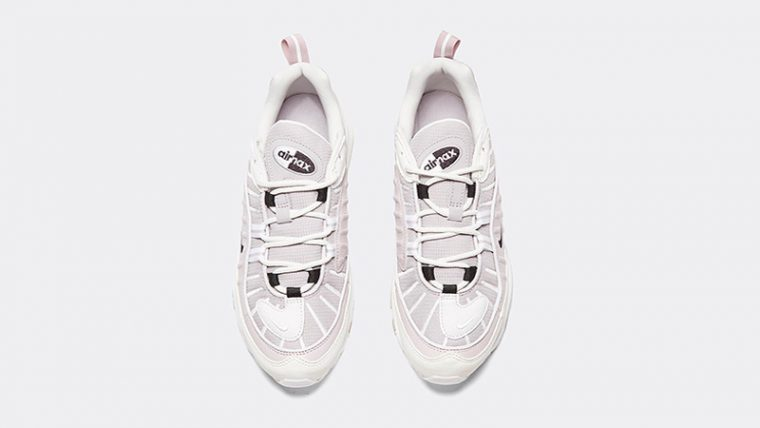 Nike Womens Air Max 98 Silver Lilac middle thumbnail image