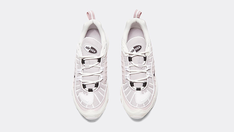 Nike Womens Air Max 98 Silver Lilac middle