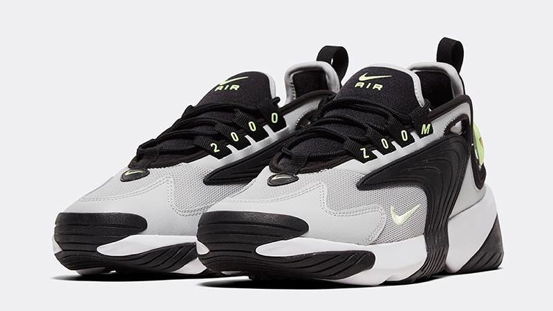 Nike Zoom 2K Black Barley Volt front