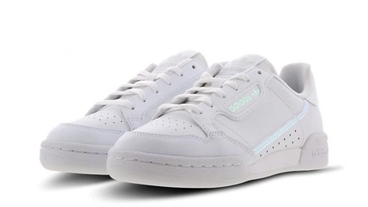 adidas Continental 80 White FU6669 front thumbnail image