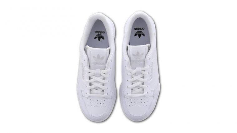 adidas Continental 80 White FU6669 middle thumbnail image