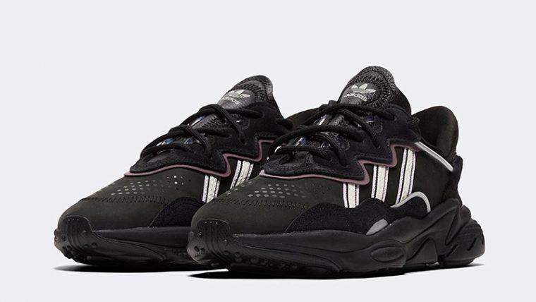 adidas Ozweego Black EG0553 front thumbnail image