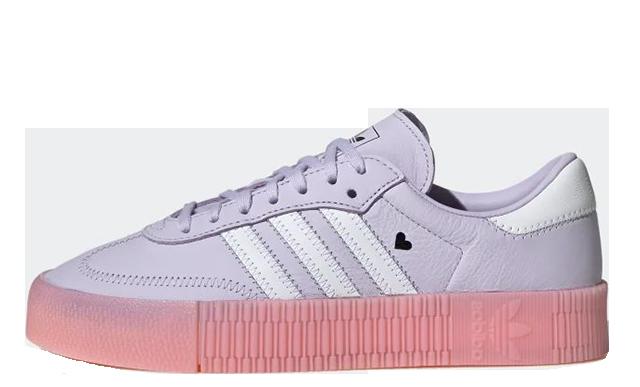 adidas Sambarose Purple Pink EF4966