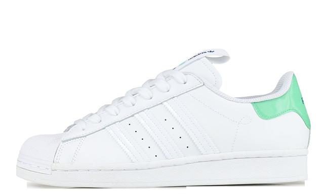 adidas Superstar White Mint Paris