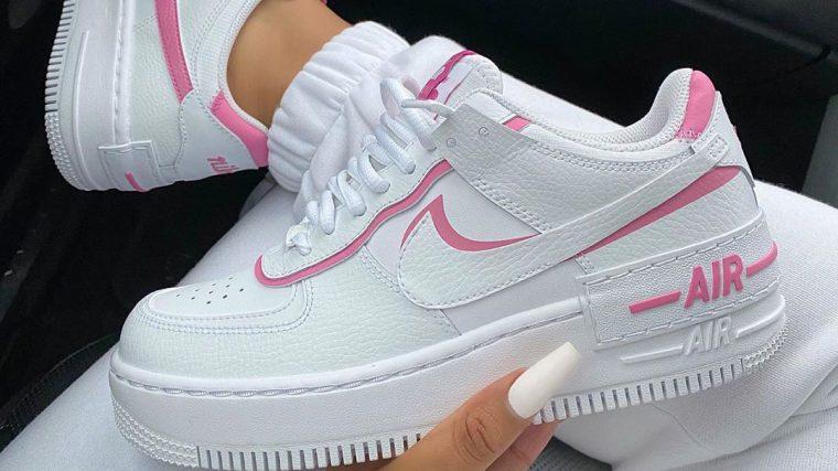 af1 shadow pink white