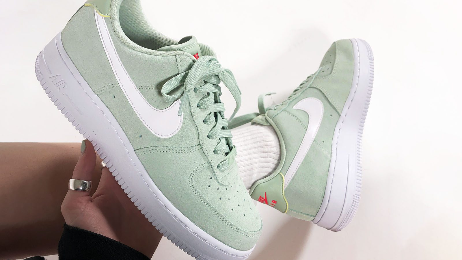 air force 1 pistachio frost green