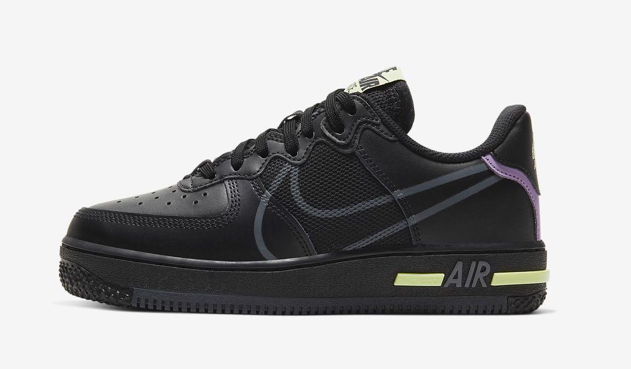 air-force-1-react-older black