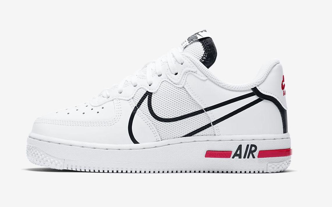 air-force-1-react-older white red jpg