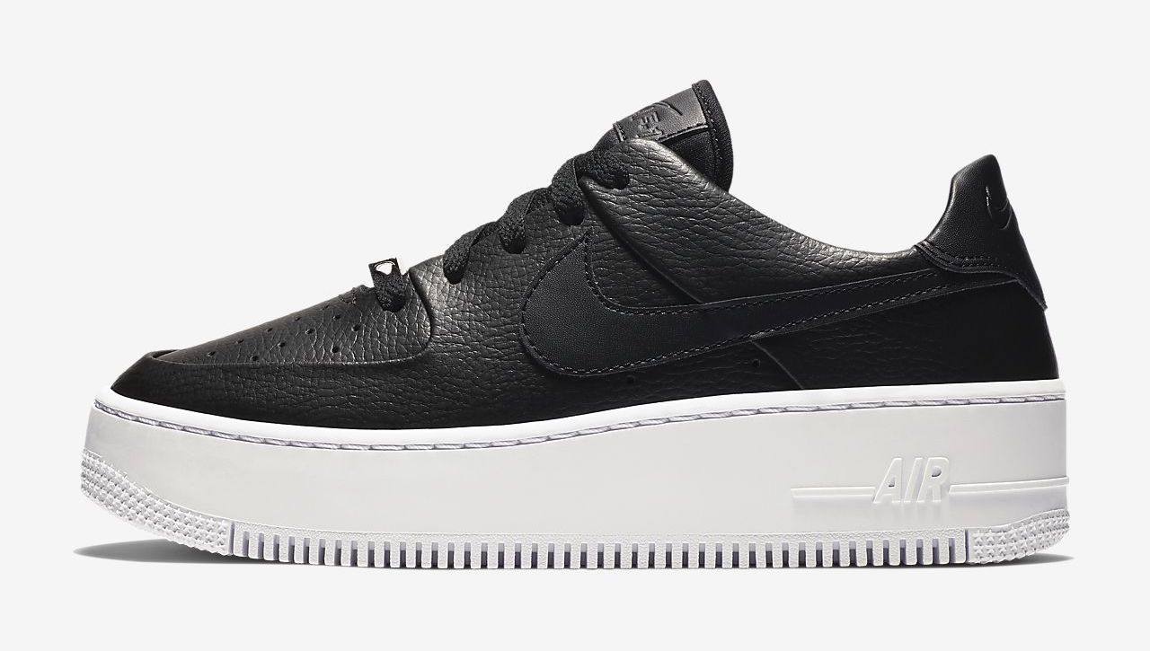 air-force-1-sage-black white The Best Platform Sneakers: 11 Air Force 1 Sage Colourways For 2020
