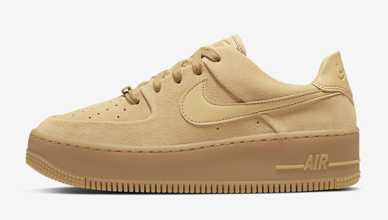 air-force-1-sage club gold The Best Platform Sneakers: 11 Air Force 1 Sage Colourways For 2020