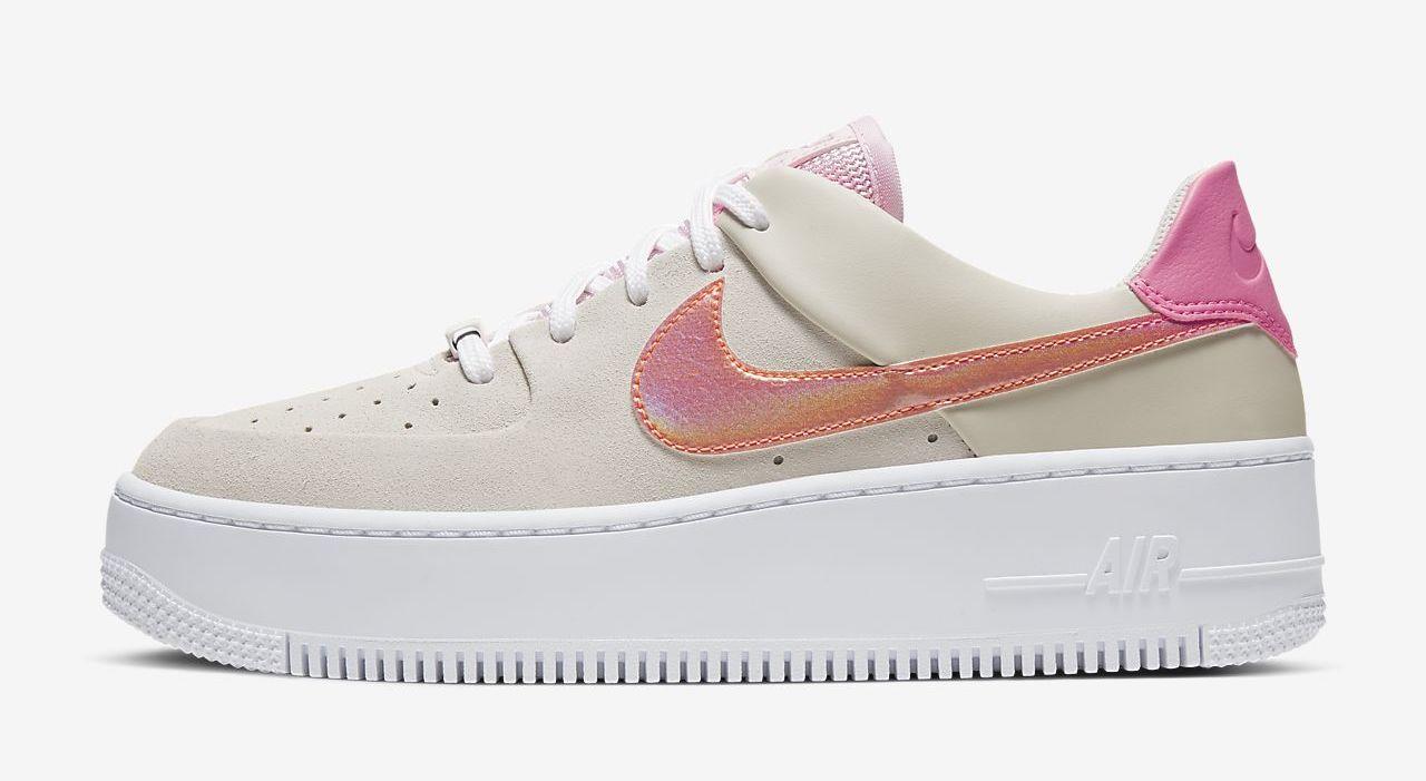 air-force-1-sage digital pink The Best Platform Sneakers: 11 Air Force 1 Sage Colourways For 2020