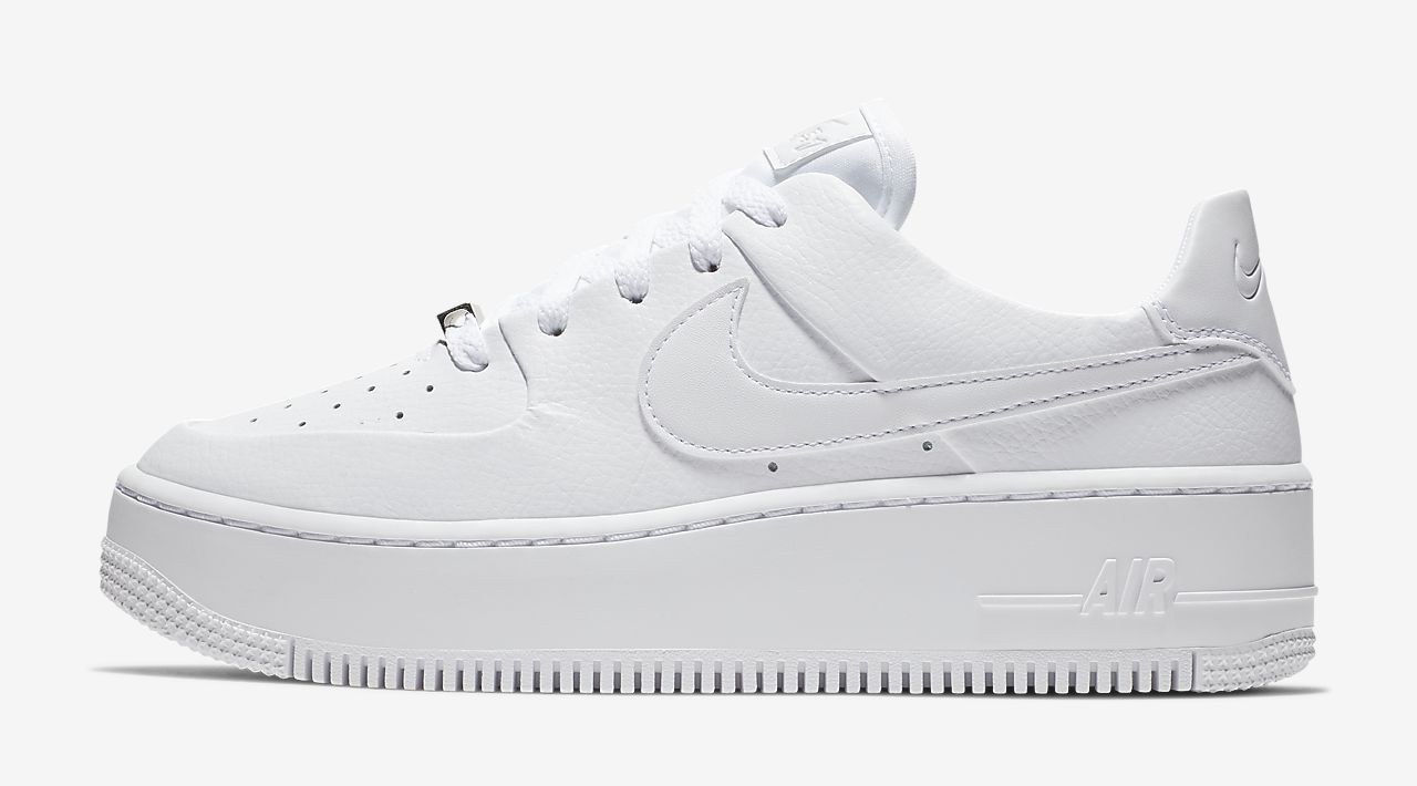 air-force-1-sage white The Best Platform Sneakers: 11 Air Force 1 Sage Colourways For 2020