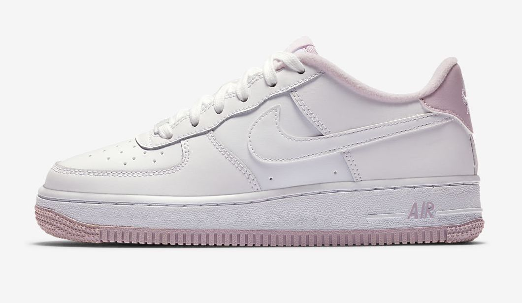 air force 1 white pink