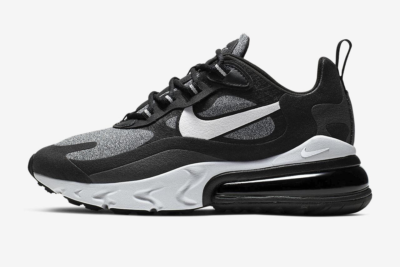 air-max-270-react-black grey
