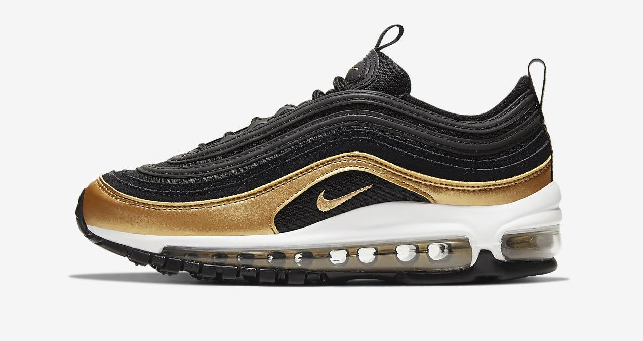 air max 97 black metallic gold