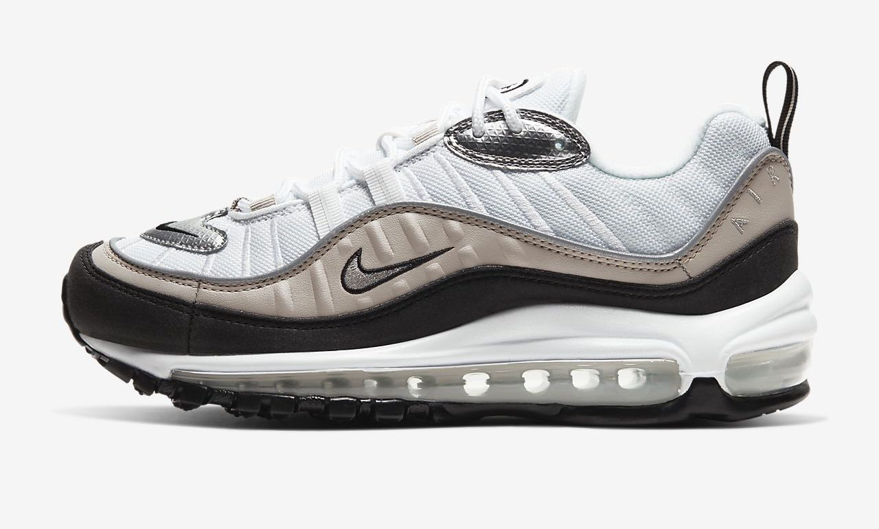 air max 98 metallic