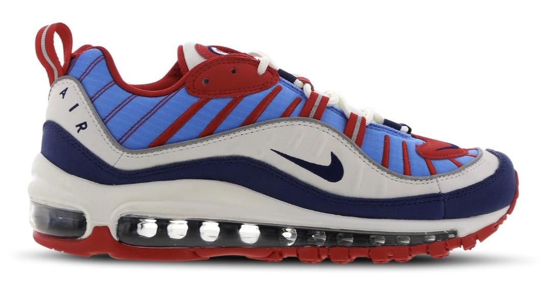air max 98 red blue