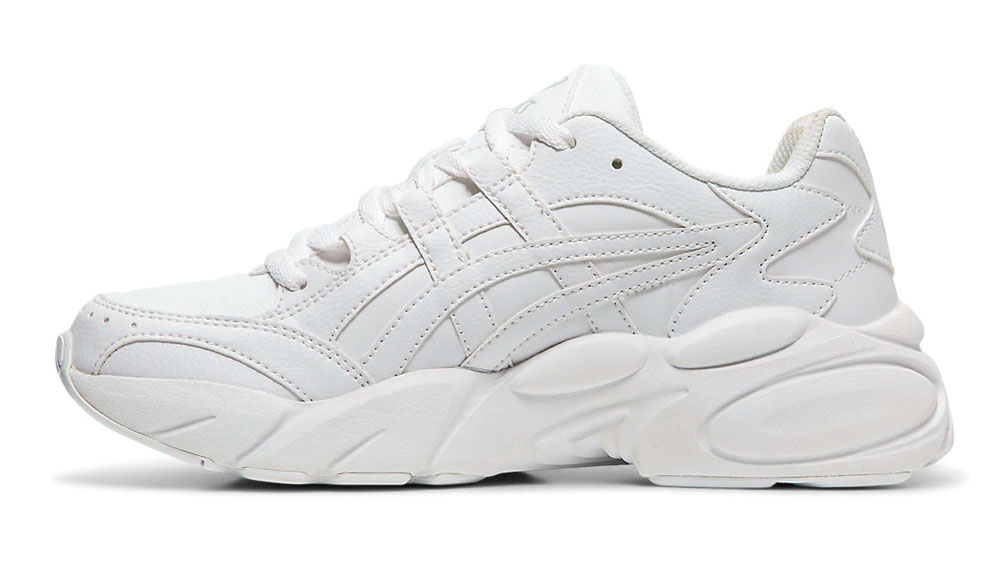 This Triple White ASICS GEL-BND Is The Chunky Sneaker You Never Knew You Needed left