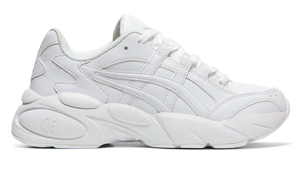This Triple White ASICS GEL-BND Is The Chunky Sneaker You Never Knew You Needed right