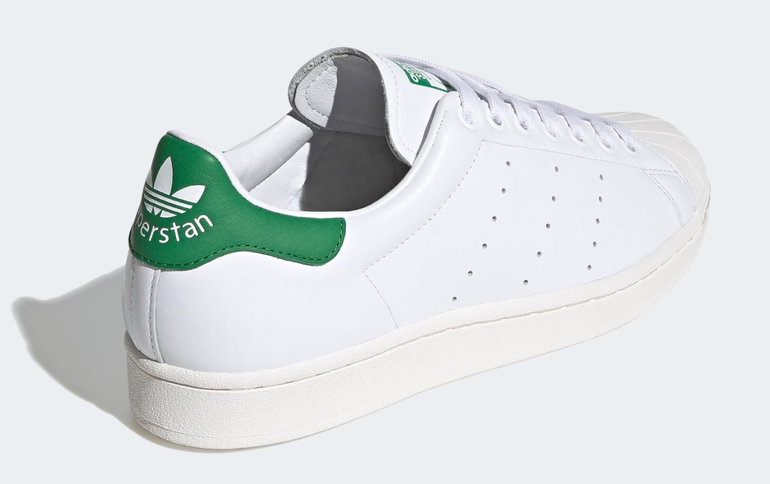 Introducing The Superstan, adidas' New, Contemporary Hyrbid Silhouette heel