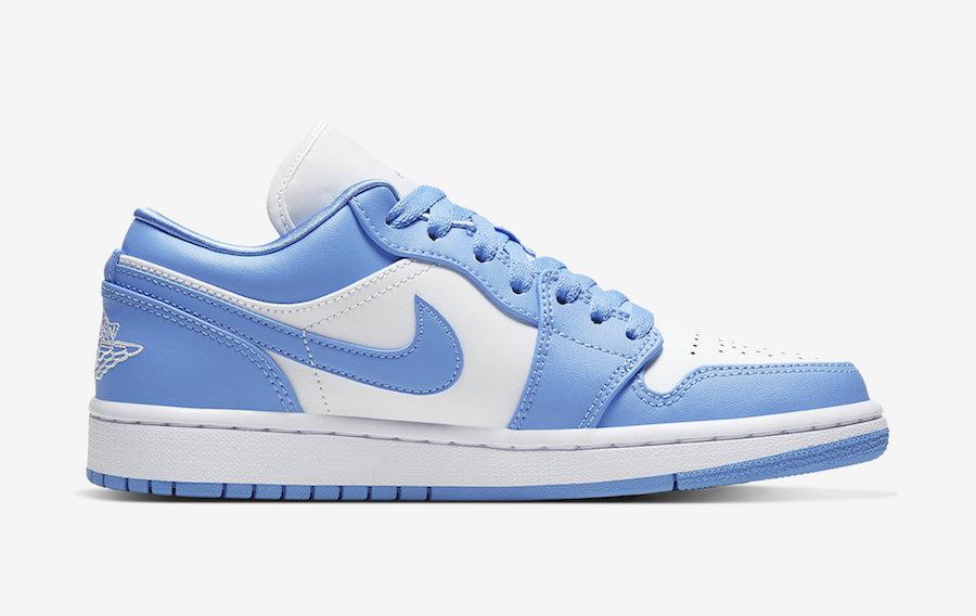 Air-Jordan-1-Low-UNC-University-Blue-White-AO9944-441-Release-Date-3 right