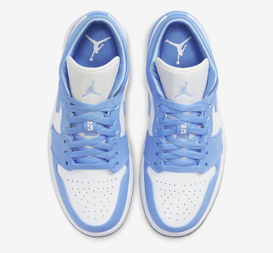 Air-Jordan-1-Low-UNC-University-Blue-White-AO9944-441-Release-Date-3 laces