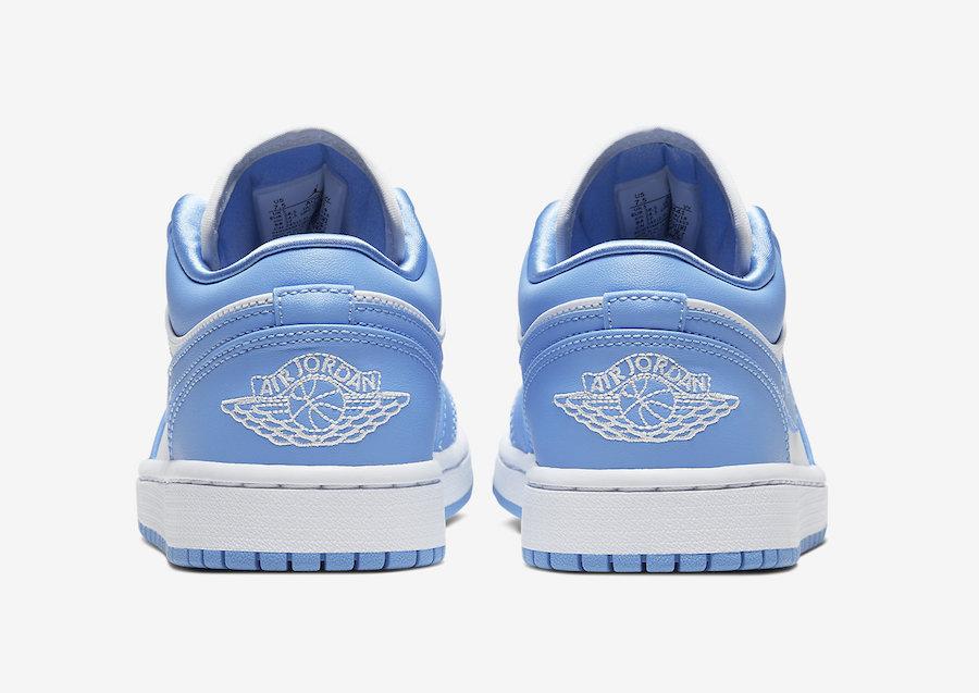 Air-Jordan-1-Low-UNC-University-Blue-White-AO9944-441-Release-Date-3 heel