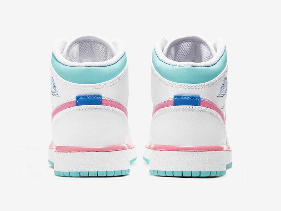 Air jordan 1 Digital Pink back