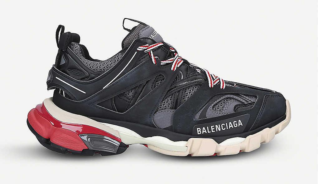 Balanciaga Track Black Red