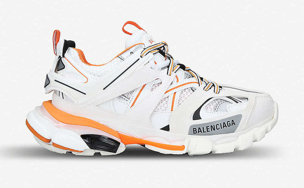 Balenciaga Track White Orange