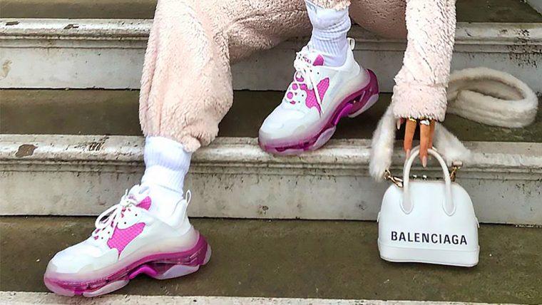 Balenciaga Triple S Pink 2