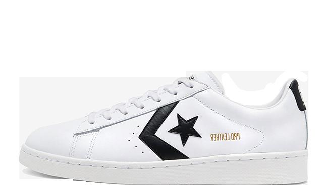 Converse Pro Ox White Black   167237C