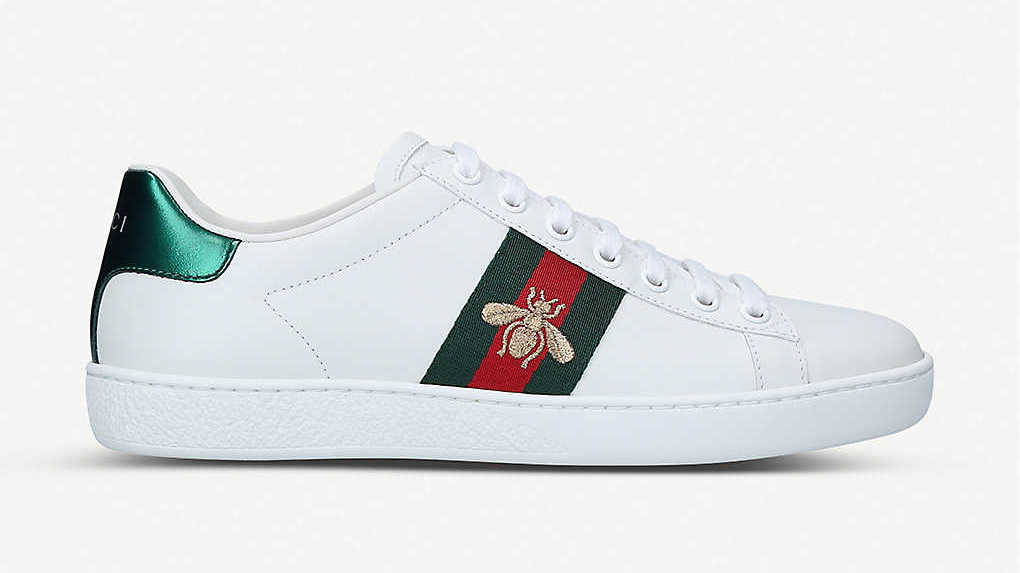 Gucci Bee Logo Trainer