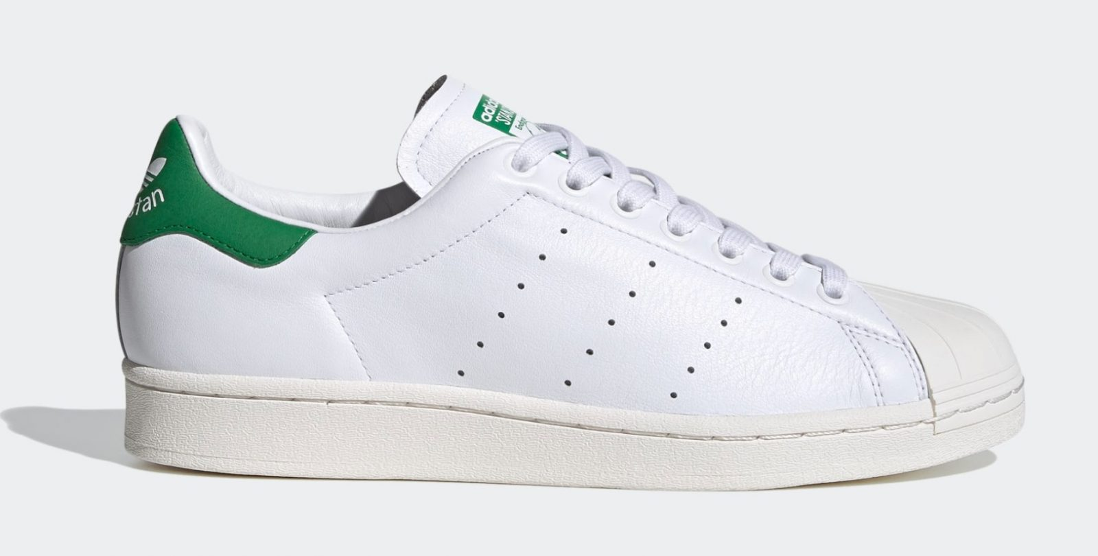 Introducing The Superstan, adidas' New, Contemporary Hyrbid Silhouette right