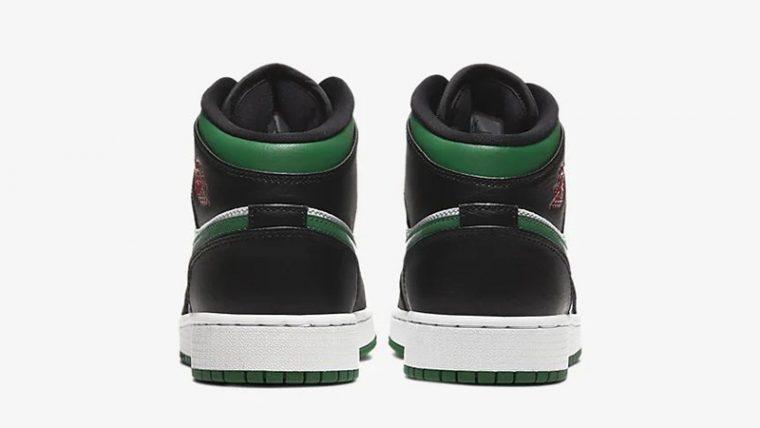 Jordan 1 Mid Pine Green Black 554725-067 back thumbnail image