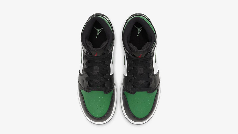 Jordan 1 Mid Pine Green Black 554725-067 middle