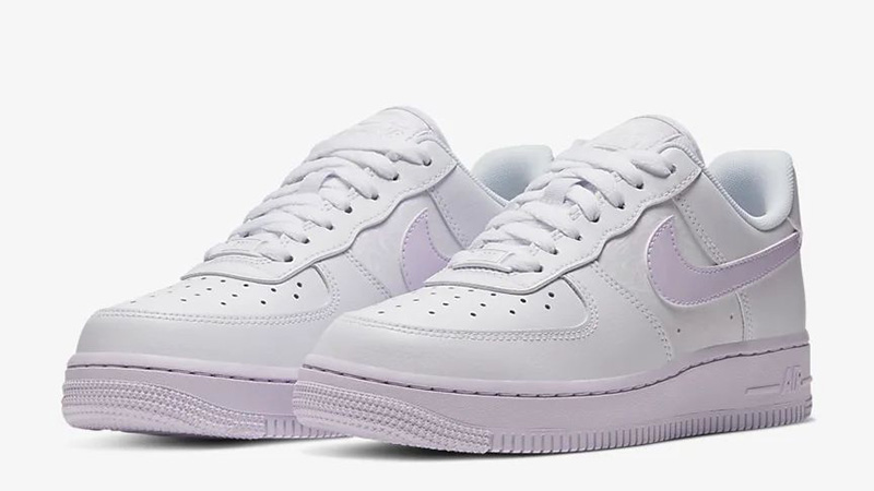 Nike Air Force 1 07 Barely Grape | CU3449 100 | The Sole Womens
